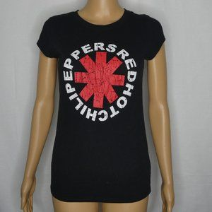 Eevee Red Hot Chili Peppers Band Graphic T Shirt